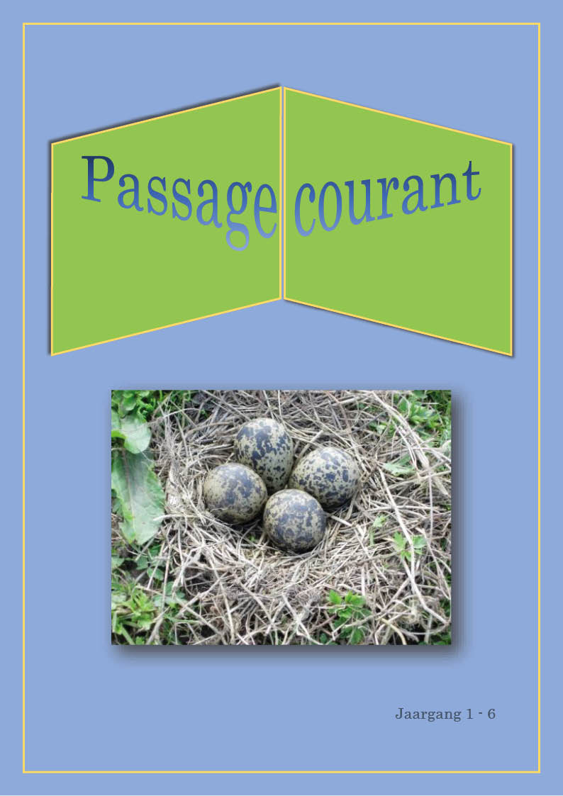 Passage courant 6 cover
