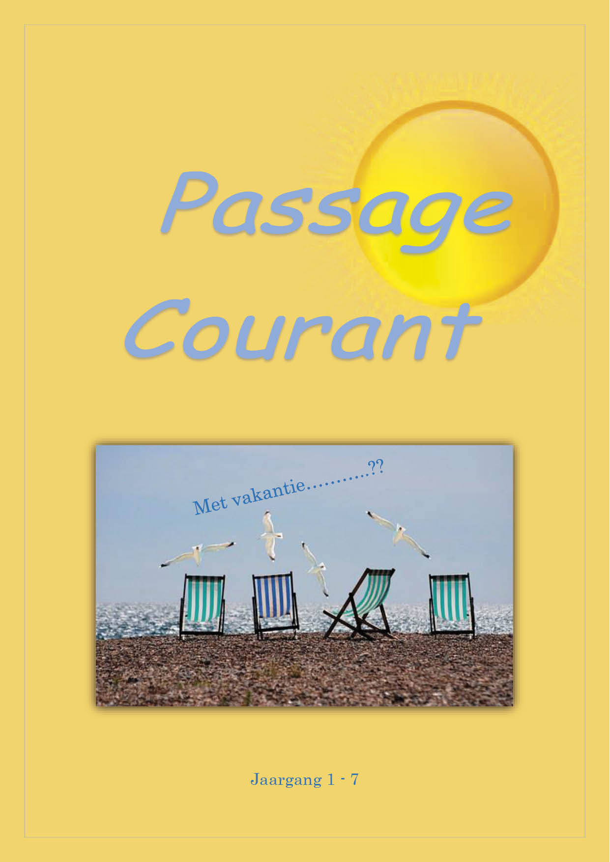 Passage courant 7 cover