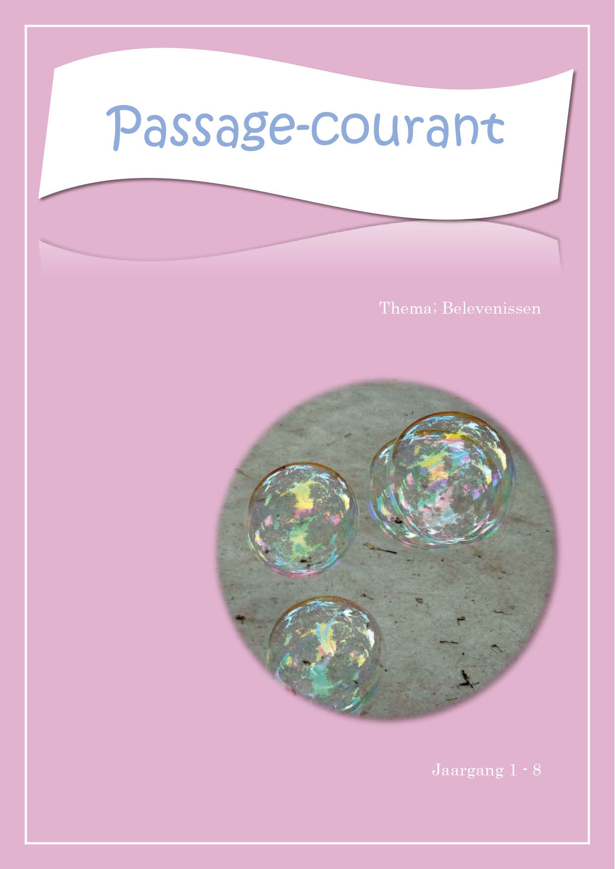 Passage courant 8 cover